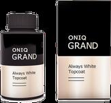 ONIQ Grand Финишное покрытие Always White Topcoat, 30 мл OGPL-912