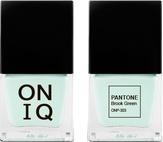 ONIQ Лак для ногтей с эффектом геля PANTONE Brook Green ONP-303