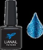 """Lianail Гель-лак с эффектом жидкой фольги """"Sea Flash"""", 10 мл."""