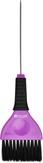 Dewal Кисть для окрашивания со спицей, черная с фиолетовым, широкая 50 мм. JB-002