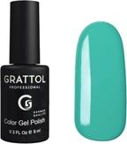 Grattol Гель-лак №061 Light Turquoise