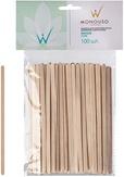 Italwax Шпатели деревянные малые 0,6х14 см. 100 шт.