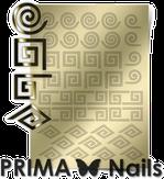 Prima Nails Металлизированные наклейки GM-01, Золото
