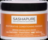 Sashapure Маска восстанавливающая с маслом сача инчи для волос 237 мл.