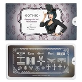 MoYou London пластина для стемпинга Gothic 06