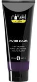 Nirvel Nutre Color Цветная гель-маска, цвет темно-баклажановый 200 мл.