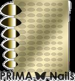 Prima Nails Металлизированные наклейки CL-010, Золото