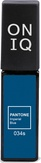 ONIQ Гель-лак для ногтей PANTONE 034s, цвет Imperial blue OGP-034s