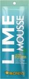 Soleo Lime Mousse Крем ультра-ускоритель для солярия с маслом какао 15 мл.
