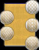 El Corazon Трафареты для дизайна ногтей № 04