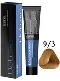Estel Professional De Luxe Стойкая крем-краска 9/3, 60 мл.