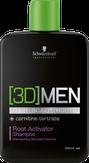 Schwarzkopf 3D Men Root Activator Shampoo Шампунь активатор роста волос–очищение 250 мл. 264425