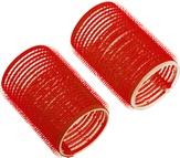 Dewal Бигуди-липучки, красные 13 мм. 12 шт. R-VTR10