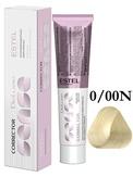 Estel Professional De Luxe Sense Крем-краска корректор для окрашивания волос нейтральный 0/00N 60 мл.