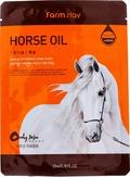 FarmStay Тканевая маска для лица с лошадиным маслом 23 мл