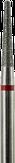 Modelon Фреза алмазная конус закругленный, D1,8 мм. красная, мягкая зернистость 806.199.514.018