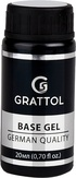 Grattol База каучуковая Extra Cremnium Rubber Base, 20 мл. (густая)