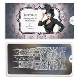 MoYou London пластина для стемпинга Gothic 10