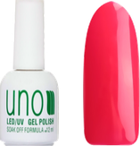 UNO Гель-лак 129 Шокирующий розовый - Shoking Pink, 12 мл.