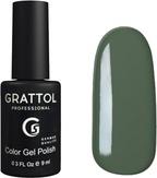 Grattol Гель-лак №059 Green Gray