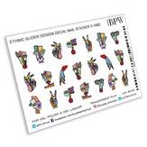 BPW Style Слайдер-дизайн Абстракция лица и руки