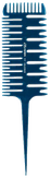 Comair Расческа для окраски и мелирования