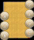 El Corazon Трафареты для дизайна ногтей № 03