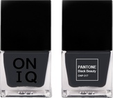 ONIQ Лак для ногтей с эффектом геля PANTONE Black Beauty ONP-317