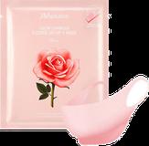 JMsolution Glow Luminous Flower Lift-up V Mask Маска для подтяжки контура лица с экстрактом дамасской розы