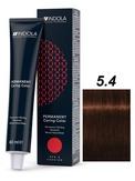 Indola Red&Fashion 5.4 Крем-краска Светлый коричневый медный 60мл