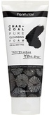FarmStay Charcoal Pure Cleancing Foam Пенка очищающая с древесным углем 180 мл