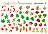 Lucky Rose Слайдер-дизайн 3D Slider-1