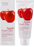 3W Clinic Moisturizing Apple Hand Cream Увлажняющий крем для рук с экстрактом яблока