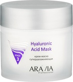 Aravia Крем-маска суперувлажняющая Hyaluronic Acid Mask 300 мл, 6002