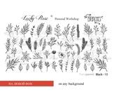Lucky Rose Слайдер-дизайн Black 13