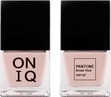 ONIQ Лак для ногтей с эффектом геля PANTONE Brown Rice ONP-307
