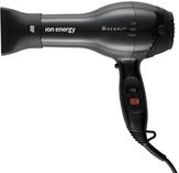Dewal Ion Energy Фен для волос черный 2000W 2 насадки